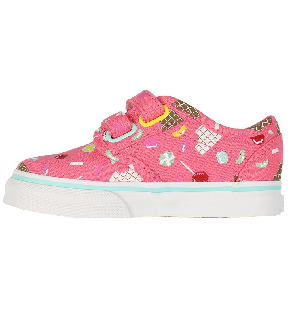 Vans Sko Slip On V Rosa m. Tern | Sneakers |