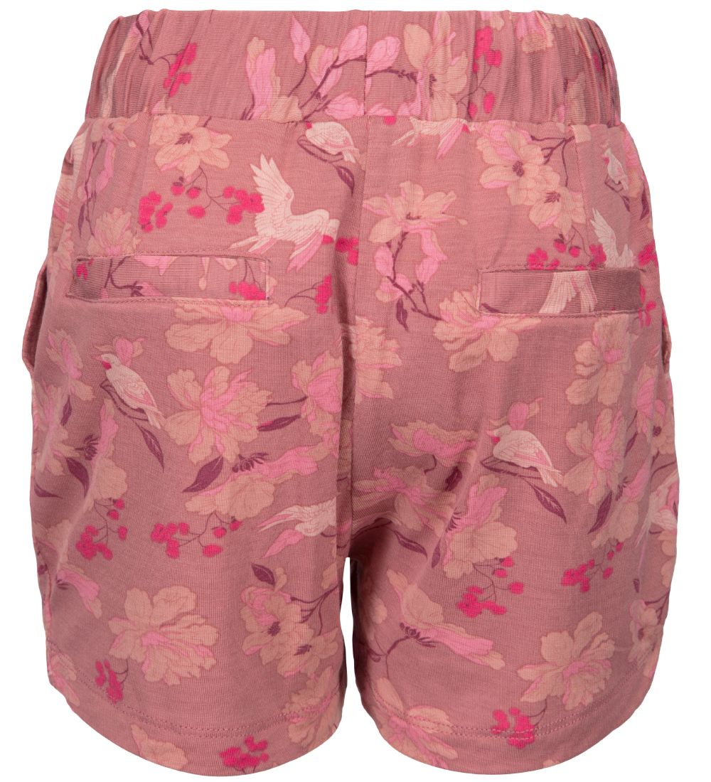 Petit by Sofie Schnoor Shorts - Floras - Mørk Rosa m. Blomster