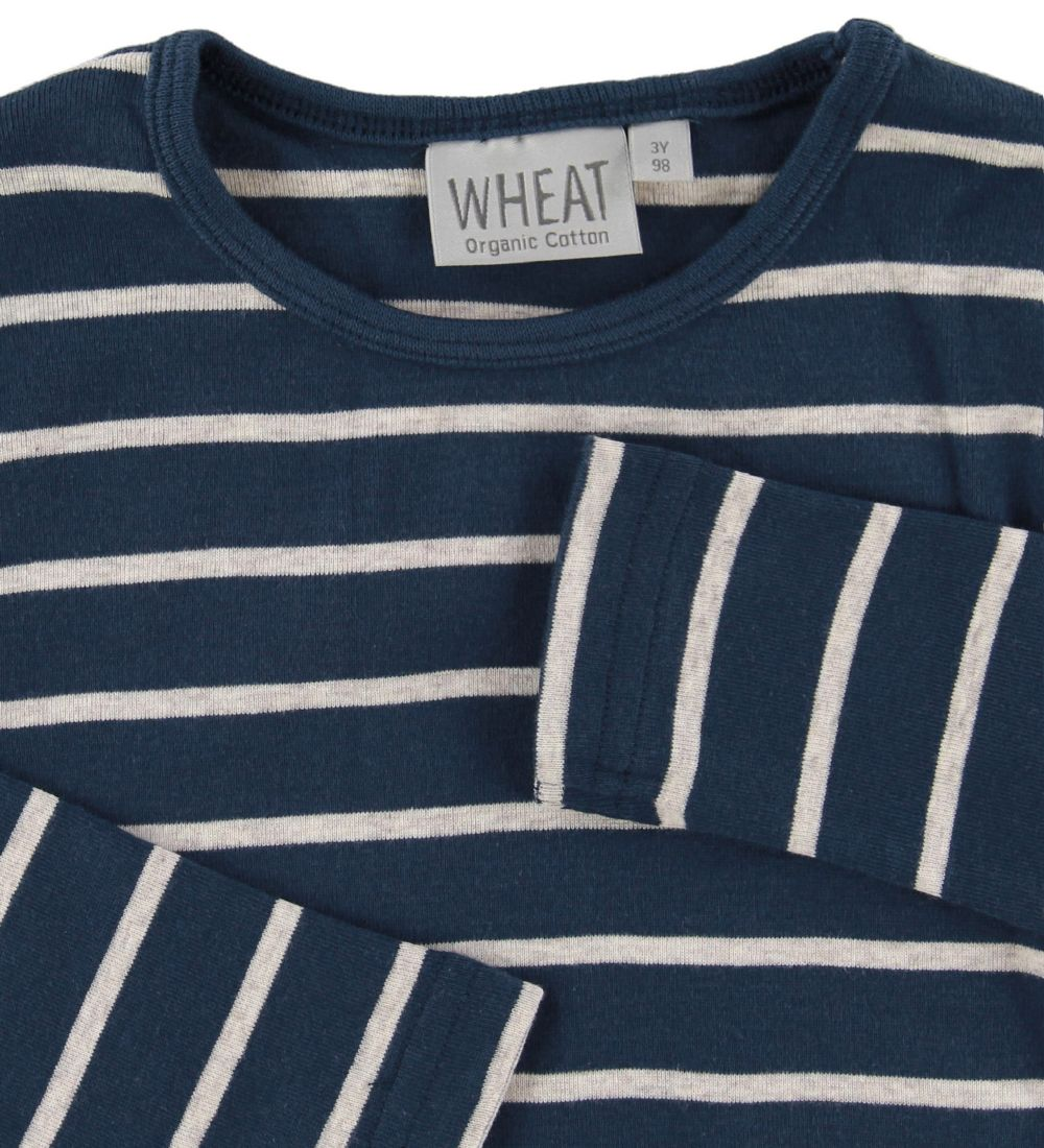 Wheat Bluse - Indigo