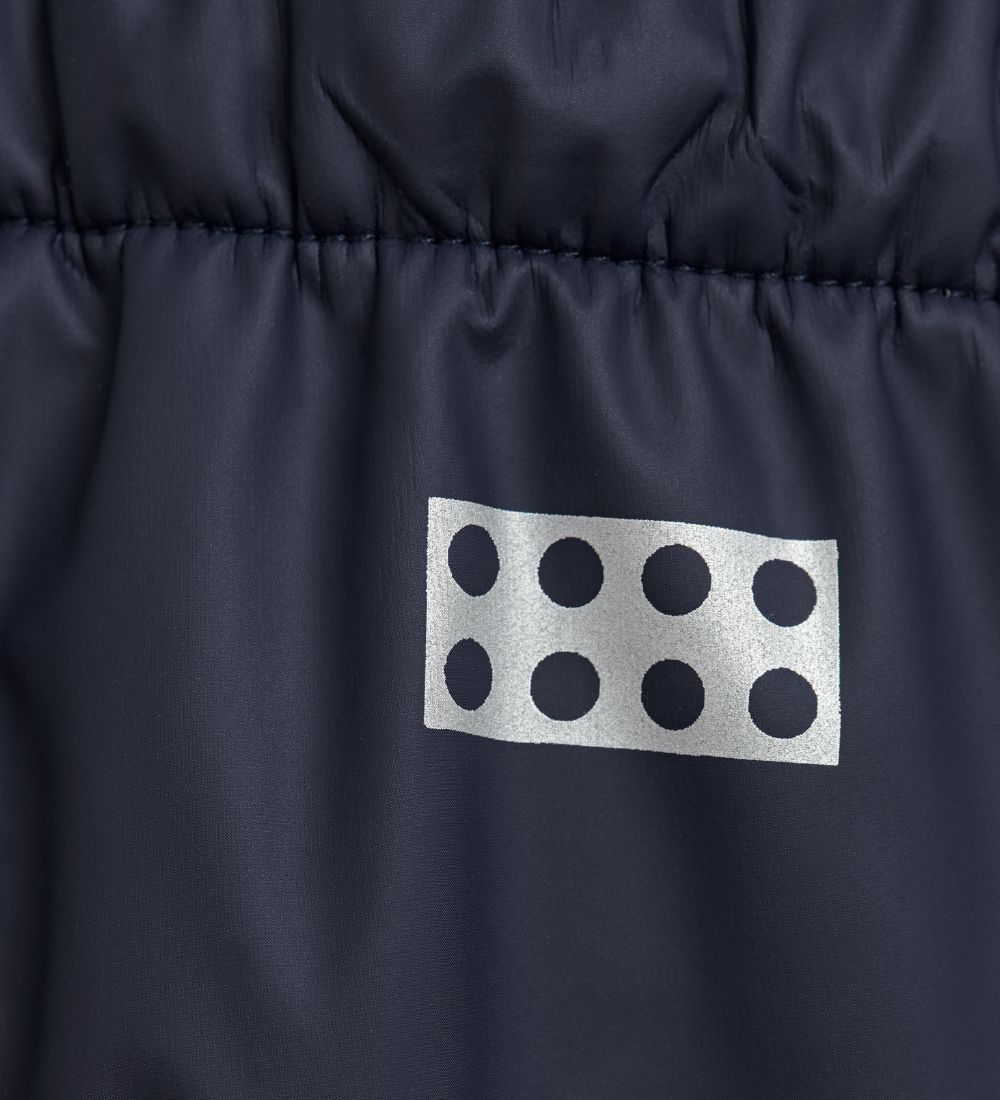 Lego Wear Regnbukser m. Fleece - PU - Platon - Navy
