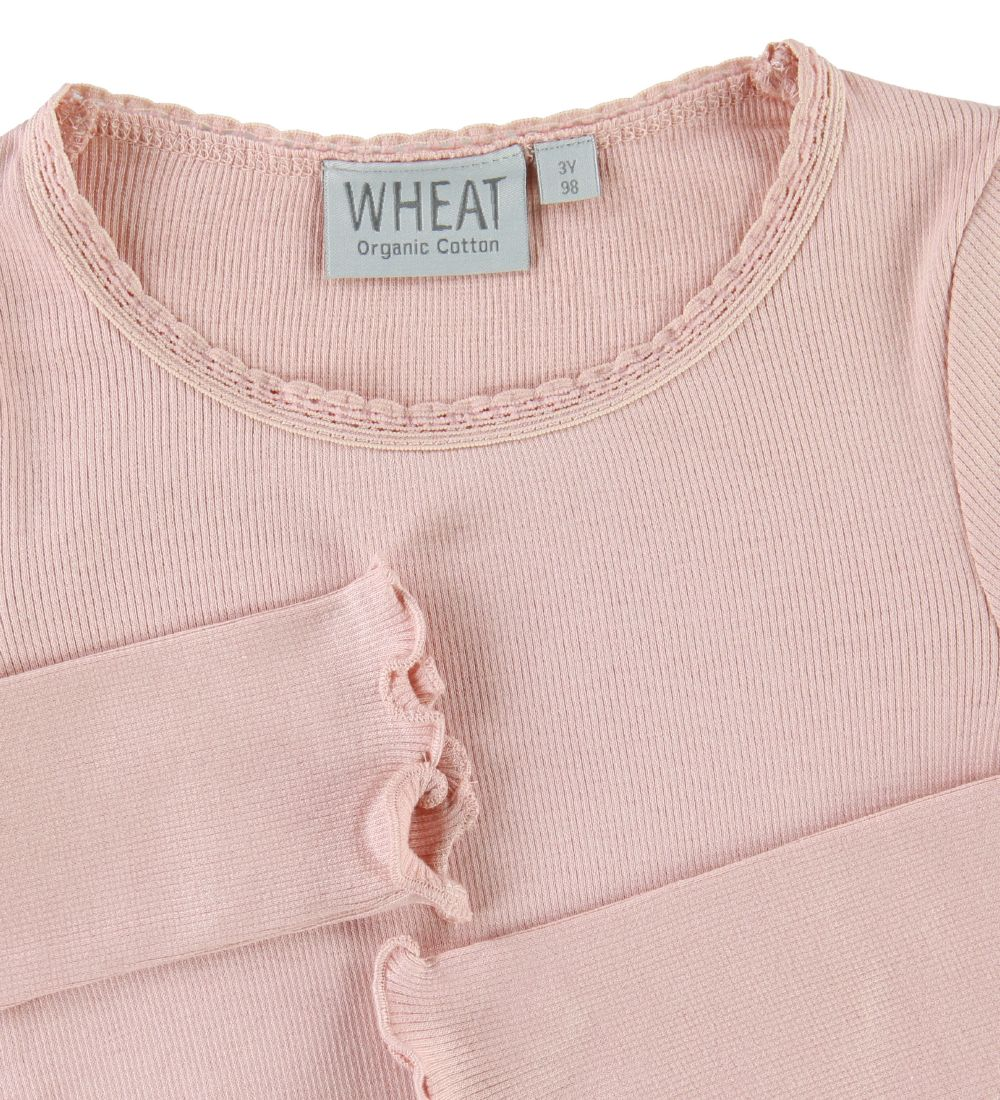 Wheat Bluse - Rib Lace - Misty Rose